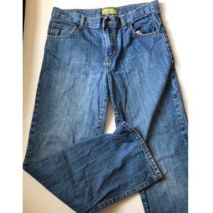 Boy's Old Navy 14 Husky Jeans Straight